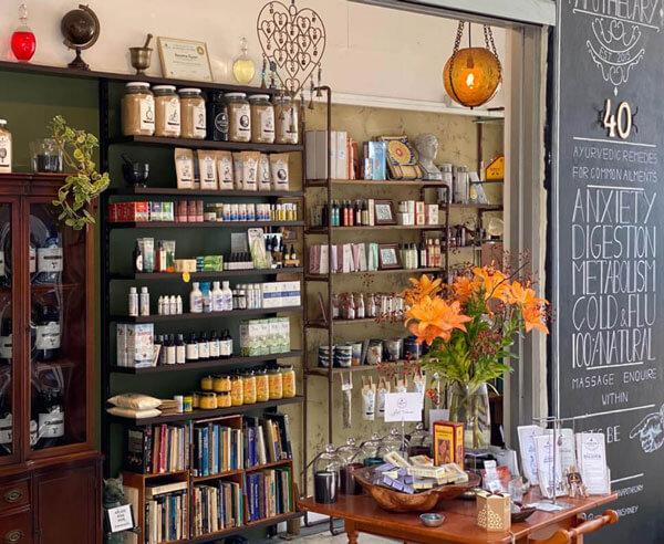 ayurvedic herbal dispensary